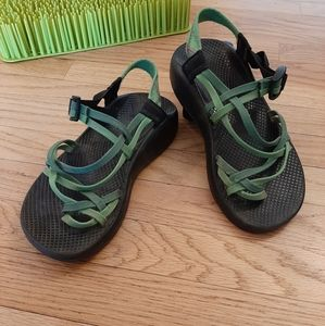 Chaco Zx2 Toe Loop Slingback Sandals Women's Sz 9